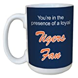 Tree-Free Greetings lm44086 Tigers Baseball Fan Ceramic Mug with Full-Sized Handle, 15-Ounce