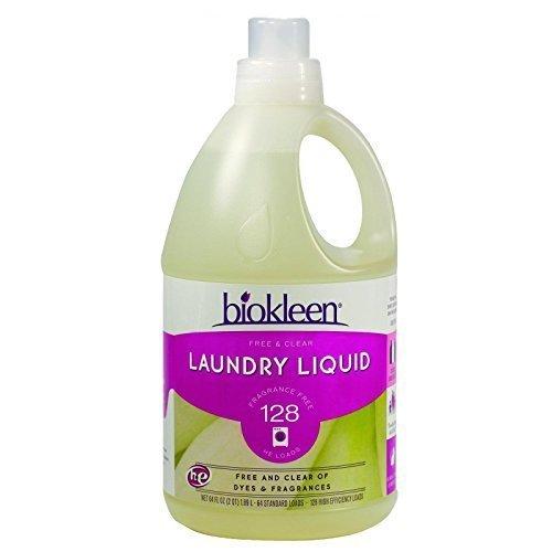 Bio Kleen フリー&クリア液体洗濯(1x64 OZ)(マルチパック) B005ZH7SRQ