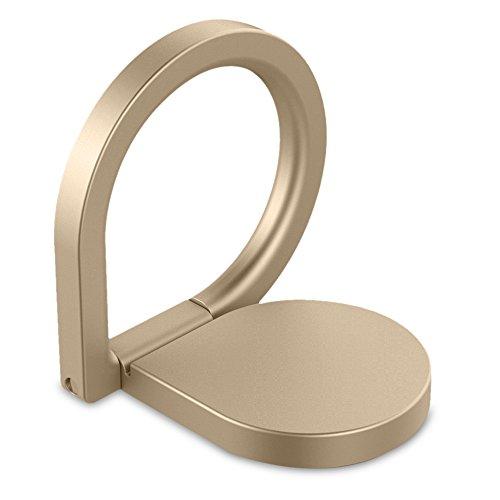 Tilt Womens Ring (Finger Ring Stand (Gold))