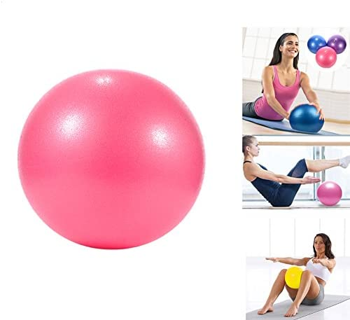 Pelota de yoga Pilates PVC a prueba de explosiones, resistencia, estabilidad, equilibrio de fitness, para niños embarazadas y mujeres, 25 cm, rojo: Amazon.es: Deportes y aire libre