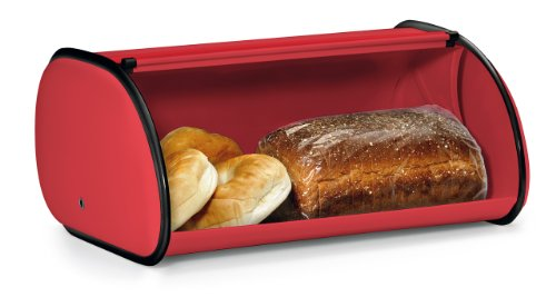 Polder-210201-30-Deluxe-Bread-Box-Red