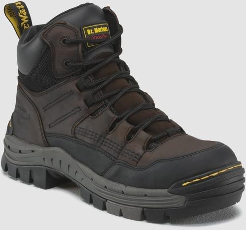 Dr. Martens Mens Truss Safety Toe 7 Tie Hiker,Gaucho+Dark Brown-9 UK