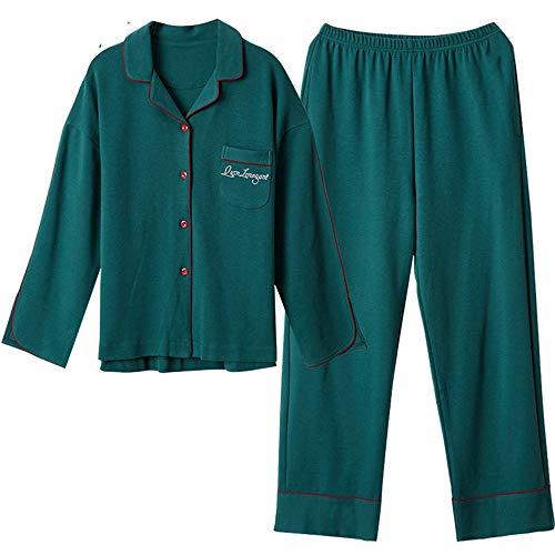 In Photo Maniche Completi A Da Yjamas Pigiami Notte Color Medicazione Di Lunghe Meaeo Pigiama Vestiti Cotone Cotone Homewear Da xfRwYqq4A