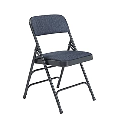 National Public Seating 2300 Series Steel Frame Upholstered Premium Fabric Seat and Back Folding Chair with Triple Brace, 480 lbs Capacity, Imperial Blue/Char-Blue (Carton of 4) - 4011552 , B003VKM5ZY , 454_B003VKM5ZY , 101.12 , National-Public-Seating-2300-Series-Steel-Frame-Upholstered-Premium-Fabric-Seat-and-Back-Folding-Chair-with-Triple-Brace-480-lbs-Capacity-Imperial-Blue-Char-Blue-Carton-of-4-454_B003VKM5ZY , usexpress.