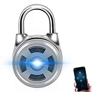 41lNDZcd9gL. SS300 YQJJZX Smart Bluetooth Blocco Lucchetto Password di sicurezza Blocco telefono Sbloccare Smart Control in lega di zinco…