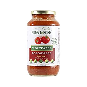 FRESHnFREE Six-Vegetable Vegan Bolognese Tomato Sauce