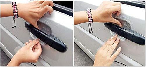 Aliaoforz Auto Styling Seitent/ür Handgelenk Schutzfolie Vinyl Passform f/ür Mercedes Benz W211 W203 W204 W210 W124 AMG W202 CLA GL W212 W220 W205