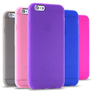 """100pcs/lot DHL/Fedex Portable Phone Shell Cover for iphone 6 Plus 5.5"""" Flexible Slim Soft Silicon Gel Case Wholesale RCD04358 --- Color:Gray"""