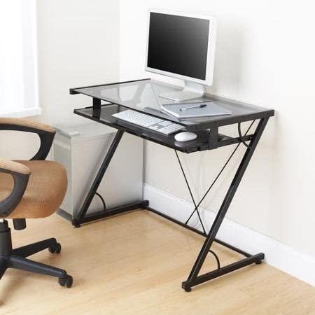 Space-saver Computer Desk Black