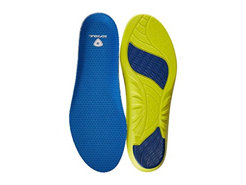 Sof Sole Insoles Women's ATHLETE Performance Full-Length Gel Shoe Insert, Women's Size 5-7.5