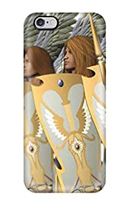 Pretty Iphone 6 Plus Case Cover/ Angel Warrior Series High Quality Case