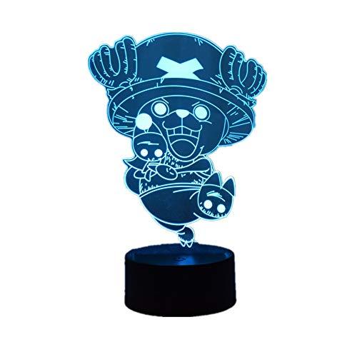 Creative Anime Tony Tony Chopper USB Lamp 3D