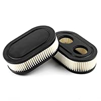 Pack of 2 Oval Air Filter Cartridge for...