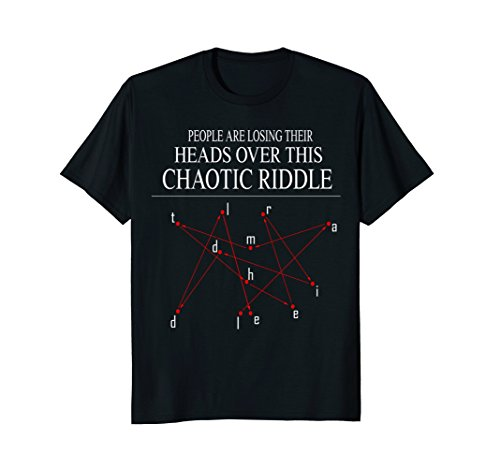 Chaotic Star Constellation Riddle  Funny Gift Tshirt