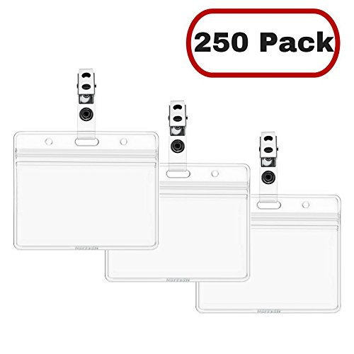 plastic clip card holders - 2