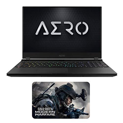 """گیگابایت AERO 15 OLED YA-9US5750SP (i9-9980HK ، 64 GB RAM ، 1TB NVMe SSD، NVIDIA RTX 2080 8GB، 15.6 """"4K UHD AMOLED، Windows 10 Pro) نوت بوک بازی"""