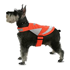 Lighted Pet Vest, X-Small, Lime Green