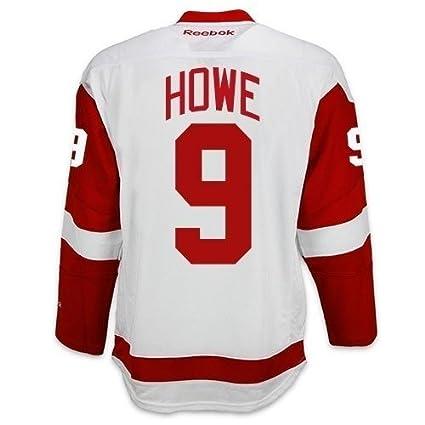 pretty nice f3f86 8643e Amazon.com : Gordie Howe Detroit Red Wings Reebok Premier ...