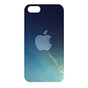 Apple Logo Phone Case Sky Style 3D Protective Cover Case for Iphone 4/4s Luxury Logo