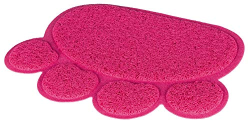 Trixie Cat Litter Tray mat, paw, PVC