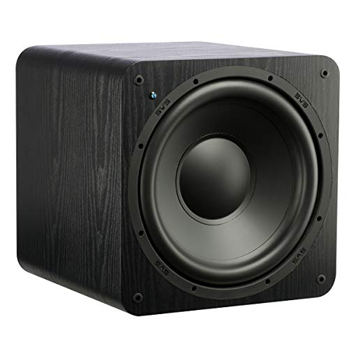 - SVS SB-1000 Subwoofer (Black Ash) - 12-inch Driver, 300-Watts RMS, Sealed Cabinet