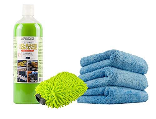 Optimum (NRWW2012Q No Rinse Wash & Wax – 32 oz. Kit
