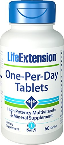 Life Extension One Per Day, 60 Tablets (Life Extension Multi)