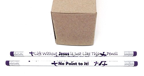 - Life Without Jesus, No Point to It (Package of 48)