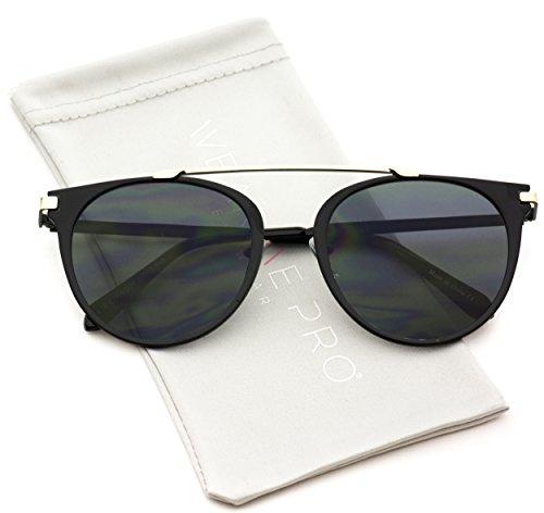 WearMe Pro - Modern Top Bar Aviator Style Sunglasses for - Modern Glasses Styles