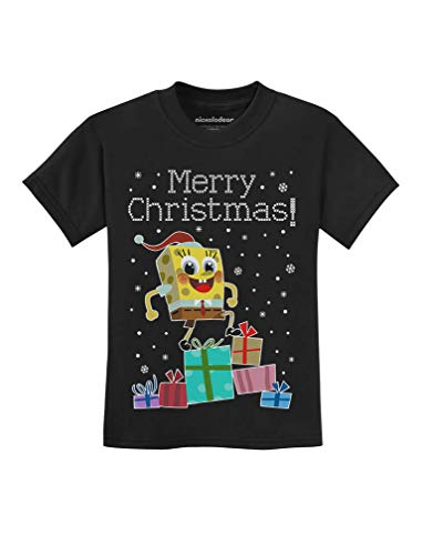 Tstars - Santa Spongebob On Gifts Ugly Christmas
