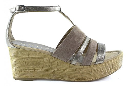 Sandalias y chanclas para mujer, color gold , marca UNISA, modelo Sandalias Y Chanclas Para Mujer UNISA ITALIA Gold Gold