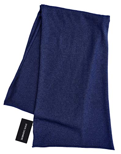 - State Cashmere 100% Pure Cashmere Solid Color Scarf Wrap, Ultimate Soft and Cozy 80