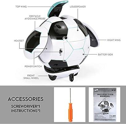 probeninmappx Reconocimiento de Voz del balón de fútbol Robot ...