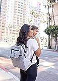 JuJuBe Diaper Bag Backpack + Messenger Bag   4-in1