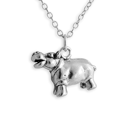 925-sterling-silver-hippopotamus-hippo-pendant-necklace-16-inches
