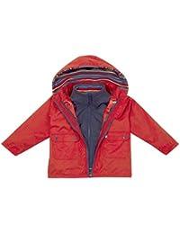 JoJo Maman Bebe Little Boys' 4-In-1 Jacket (Toddler/Kid) - Rainbow