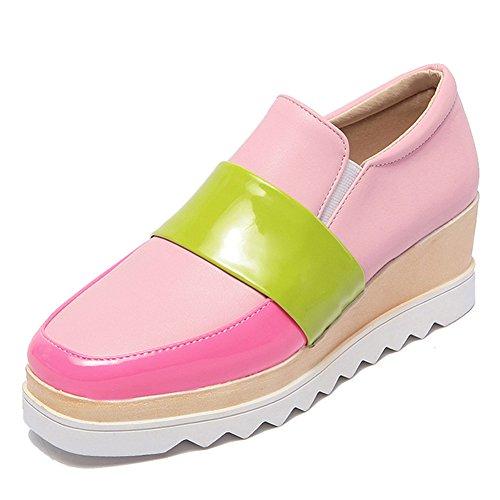 Eclimb Womens Plattform Kil Sneakers Fotled Toffeln Rosa Oss 7
