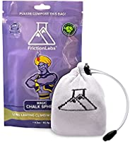 FrictionLabs Magic Chalk Ball, 2.2 oz - Premium Gym Chalk in Refillable Sock - Non Toxic - Great for Climbing,