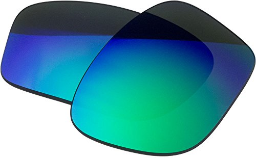 Replacement Lenses For Oakley Chainlink Sunglasses Green Mirror (Chainlink Lenses)