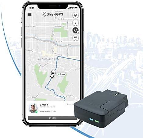 ShieldGPS VO1 - Hidden 4G GPS Tracker for Cars & Vehicles - Mini OBD Port Tracking Device