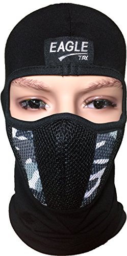 Skiing Winter Warm Stocking Cap Knit Face Mask - 8