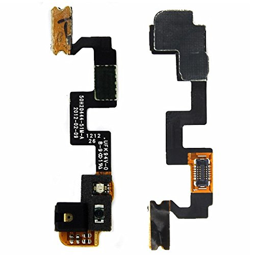 BisLinks Power On Off Button Mic Microphone Flex Cable Part for HTC One X S720e G23 (Htc X S720e One)