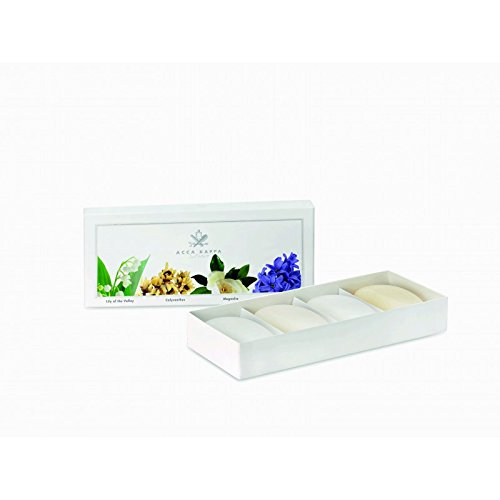 Acca Kappa Soap Gift Set (4x100g) - Calycanthus, Magnolia, Lily of the Valley & ()