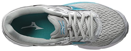 Running Blue Shoes Tile Inspire Women's Silver Mizuno Griffin 13 2A Wave qPfHz4