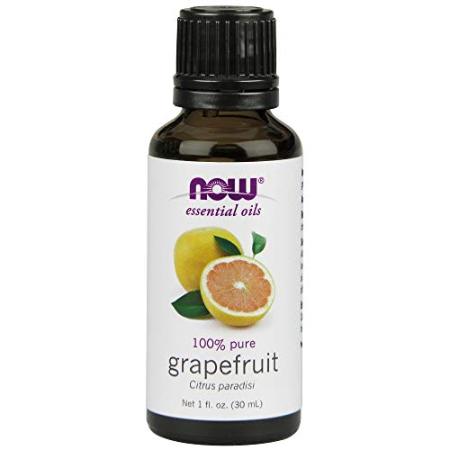 - NOW Essential Oils, Grapefruit Oil, Sweet Citrus Aromatherapy Scent, Cold Pressed, 100% Pure, Vegan, 1-Ounce