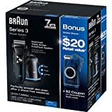 Braun 3 Series 350CC-4 Razor Special Value Pack with Bonus Travel Shaver