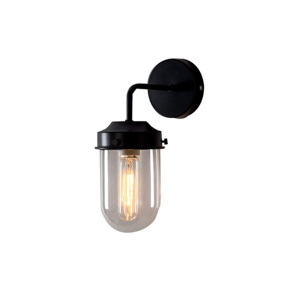 Aussenlampe Wandbeleuchtung Wandlampe Wandleuchte Innen Moderne Minimalistische Nordeuropa-Cafébar Barstudie Schlafzimmer Wolframstahl E27