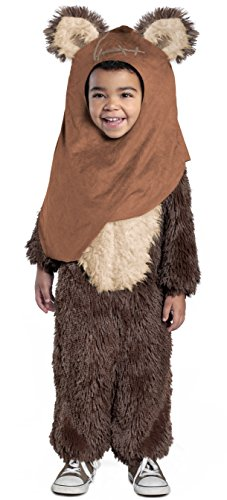 Princess Paradise Classic Star Wars Premium Toddler Wicket Costume, Brown, 2T