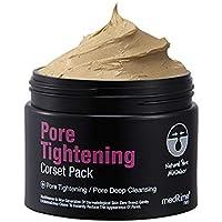 Meditime Pore Tightening Corset Pack, Pore Cleaner, Pore Minimizer, Blackhead Removing, Pore Tightening Mask for Face…