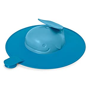 Skip Hop Moby Baby Bath Tub Stopper, Blue
